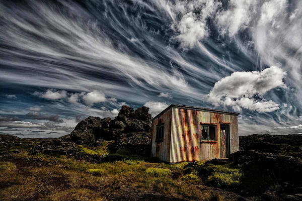 Forgotten Photograph - Broken Shack by ?orsteinn H. Ingibergsson