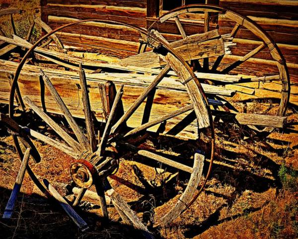 Photograph - Broken Spokes by Marty Koch
