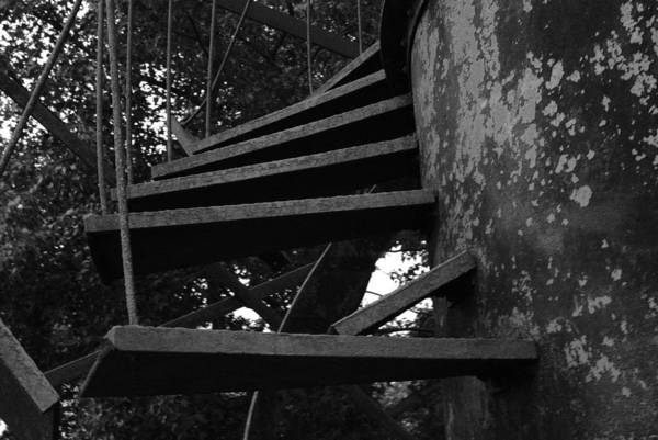 Photograph - Broken Stairs by Jennifer Ancker