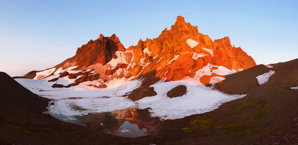 Photograph - Broken Top Mt. Sunrise by Andrew Kumler
