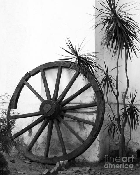 Photograph - Broken Wheel by PJ Boylan