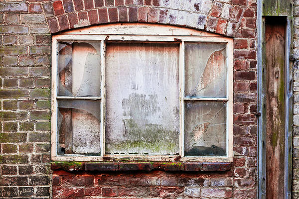 Window Photograph - Broken Window by Tom Gowanlock