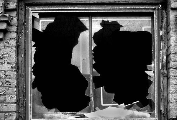 Photograph - Broken Windows by Gary Slawsky