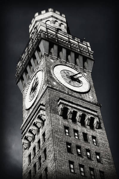 Baltimore Oriole Wall Art - Photograph - Bromo Seltzer Tower No 12 by Stephen Stookey