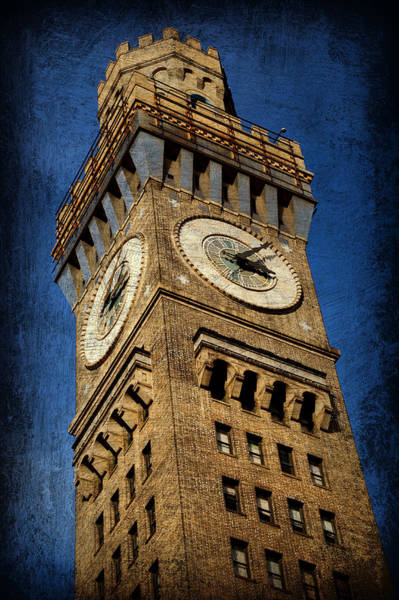 Baltimore Photograph - Bromo Seltzer Tower No 3 by Stephen Stookey