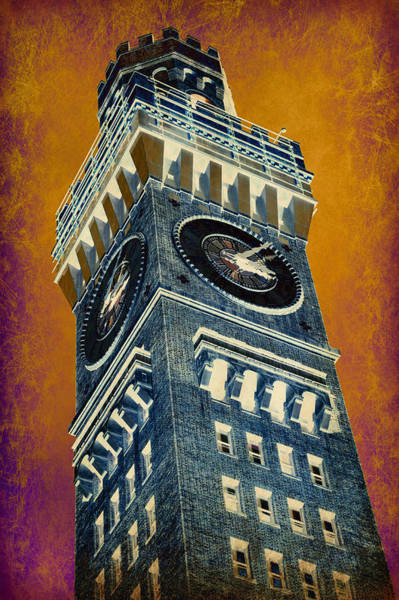 Baltimore Oriole Wall Art - Photograph - Bromo Seltzer Tower No 6 by Stephen Stookey
