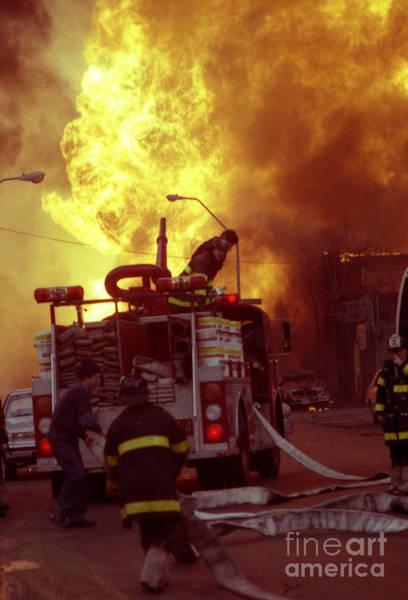 Bronx Gas Explosion-1 Art Print