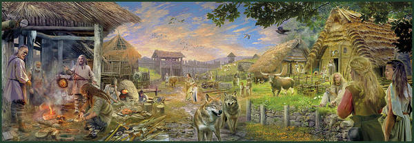 Bronze Age 2000bc Art Print