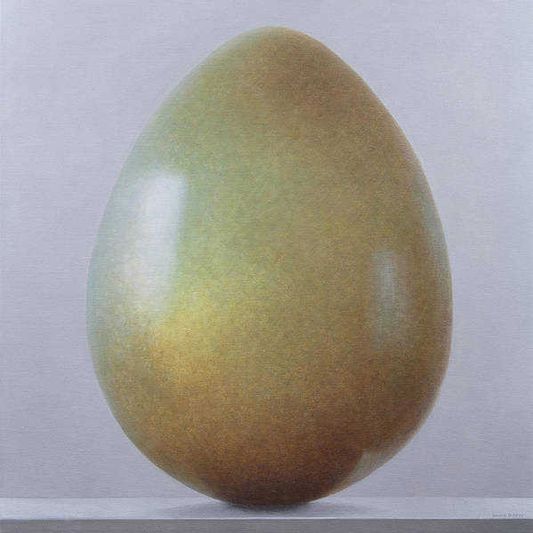 Wall Art - Painting - Bronze Age Egg  by Lincoln Seligman