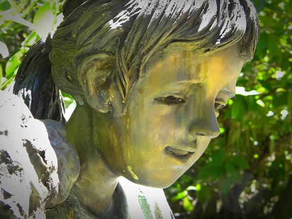 Photograph - Bronze Face by Frank Wilson