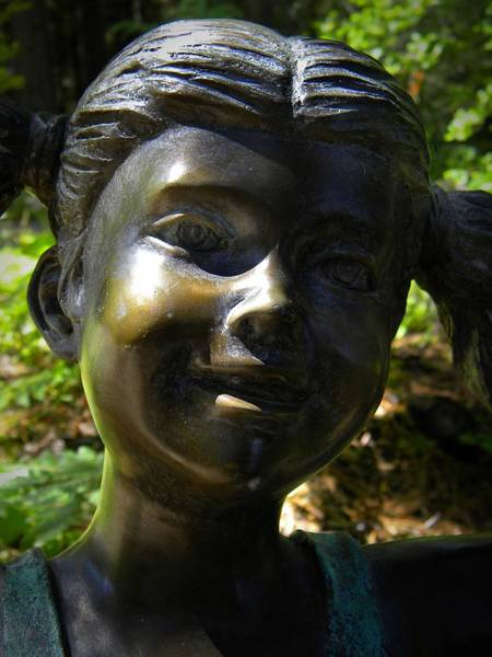 Photograph - Bronze Smile by Frank Wilson