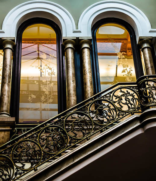 Photograph - Bronze Stairs by Sotiris Filippou