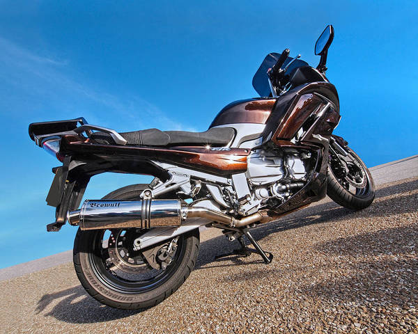 Photograph - Bronze Yamaha Fjr 1300 by Gill Billington