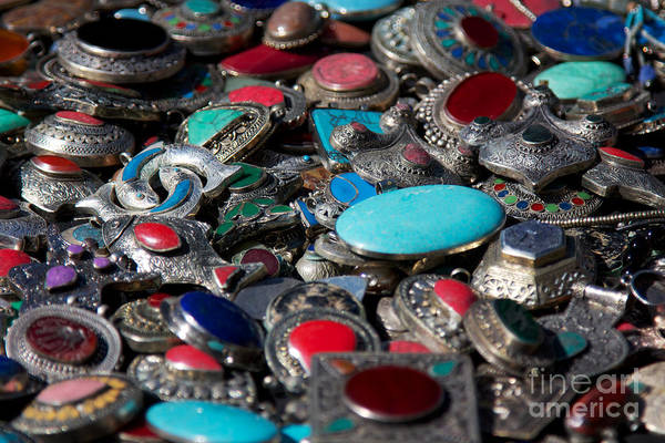 Jewelery Photograph - Brooches by Jannis Werner
