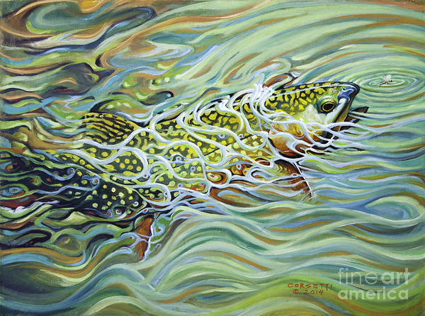 Painting - Brookie Flash by Rob Corsetti