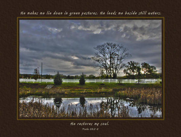 Photograph - Brooklawn Pond by Carol Erikson