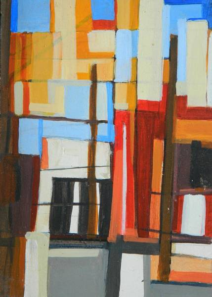 Painting - Brooklyn Abstract by Ron Erickson