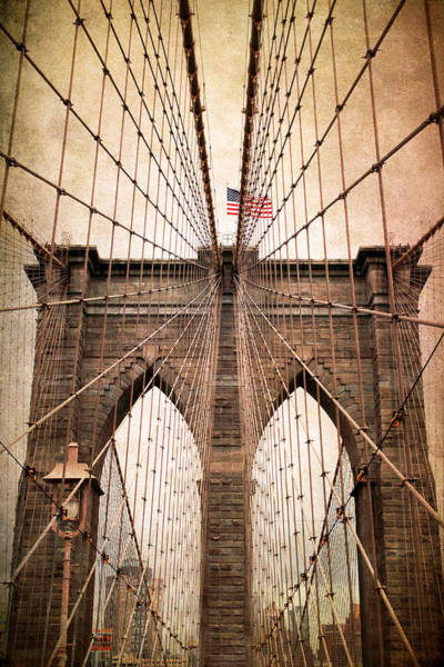 Photograph - Brooklyn Bridge Approach by Jessica Jenney