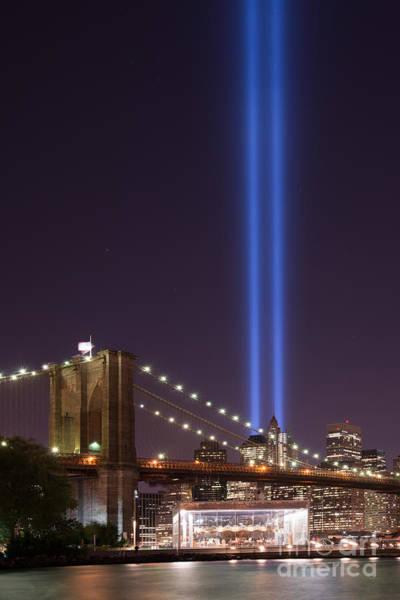 Nine Eleven Photograph - Brooklyn Bridge Carousel by Michael Ver Sprill