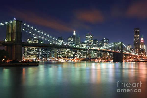 Meijer Wall Art - Photograph - Brooklyn Bridge by Henk Meijer Photography
