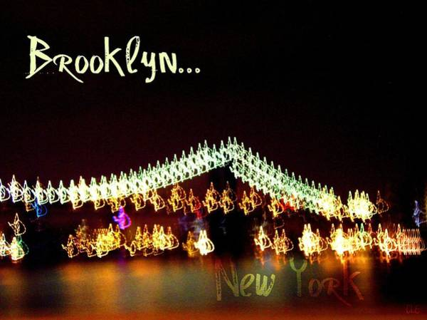 Photograph - Brooklyn Bridge I 2005 by Cleaster Cotton