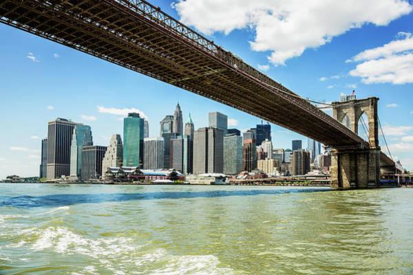 Photograph - Brooklyn Bridge, Manhattan, New York by Mbbirdy