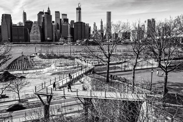 Photograph - Brooklyn Bridge Park by Frank Winters