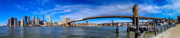 Photograph - Brooklyn Bridge Park by Randy Scherkenbach