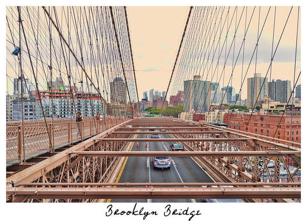 Photograph - Brooklyn Bridge by Paulette B Wright