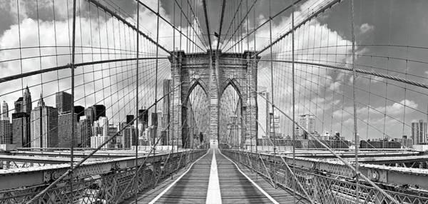 Wall Art - Photograph - Brooklyn Bridge by Shelley Lake