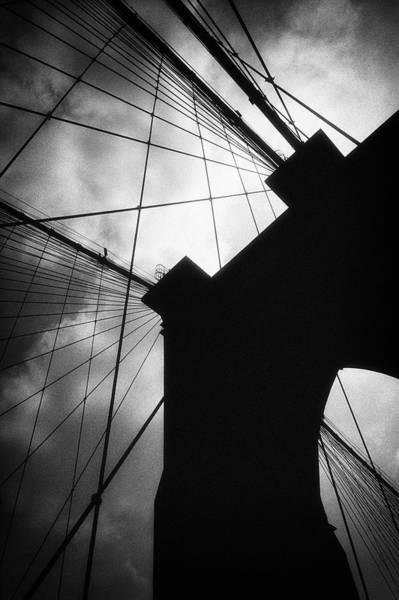 Brooklyn Bridge Silhouette Art Print