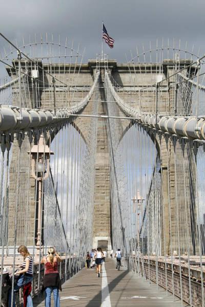 Photograph - Brooklyn Bridge by Susan Leonard