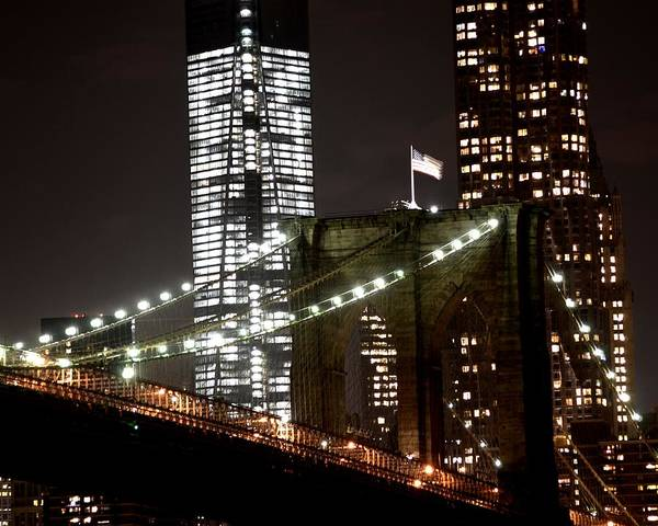 Photograph - Brooklyn Bridge by Toby McGuire