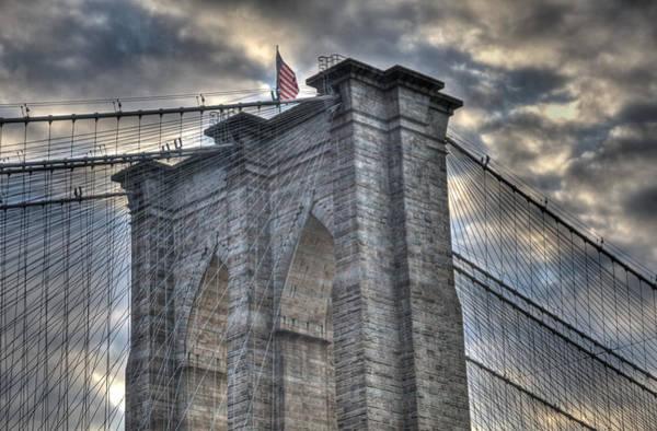Brooklyn Bridge Tower Art Print