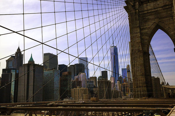 Wall Art - Photograph - Brooklyn Bridge View by Madeline Ellis