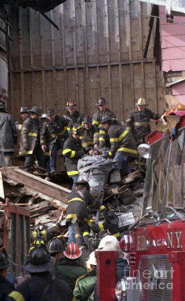 Photograph - Brooklyn Building Collapse by Steven Spak