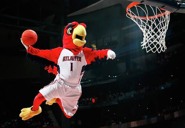Atlanta Photograph - Brooklyn Nets V Atlanta Hawks by Kevin C. Cox