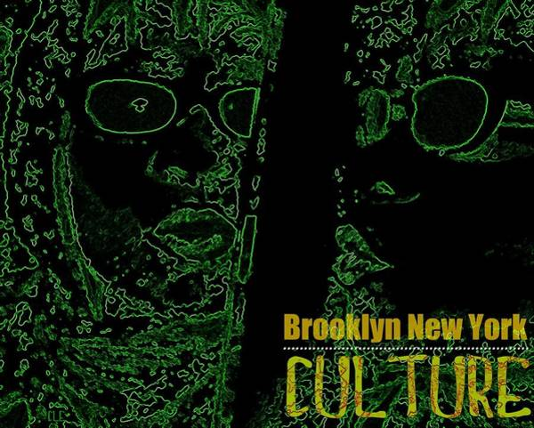 Photograph - Brooklyn New York Culture Green by Cleaster Cotton