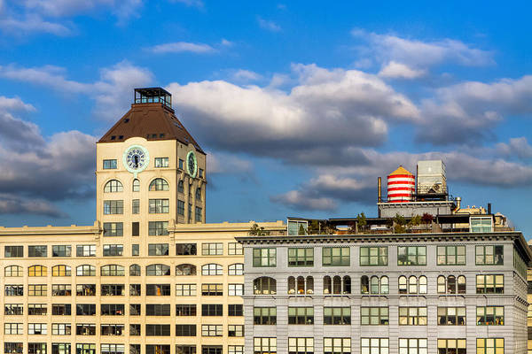 Photograph - Brooklyn Skyline - Dumbo Historic District by Mark E Tisdale