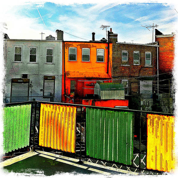 Photograph - Brooklyn Terrace by Frank Winters