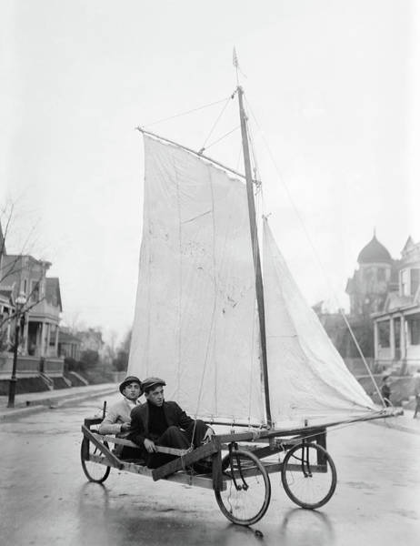 Photograph - Brooklyn Wagon, C1912 by Granger