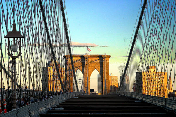 Wall Art - Photograph - Brooklynbridge by Frank Savarese