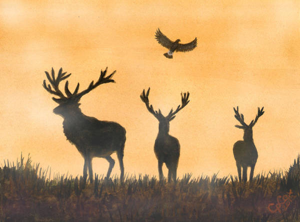 Chris Cox Painting - Brothers In Arms And The Fly Past Salute by Chris Cox