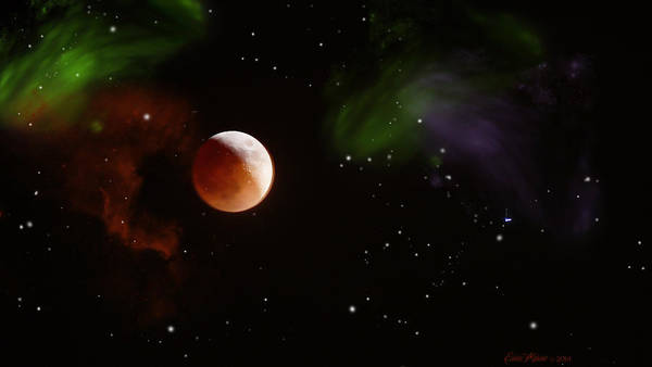 Photograph - Brothers Moon by Ericamaxine Price