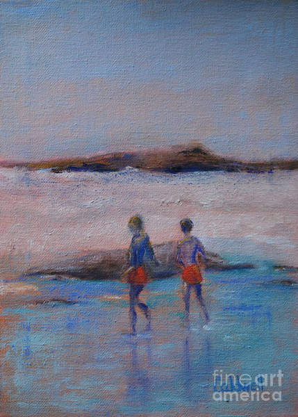 Wall Art - Painting - Brothers by Patricia Caldwell