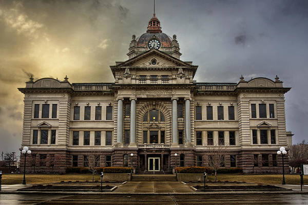 Wi Photograph - Brown County Courthouse by Thomas Zimmerman