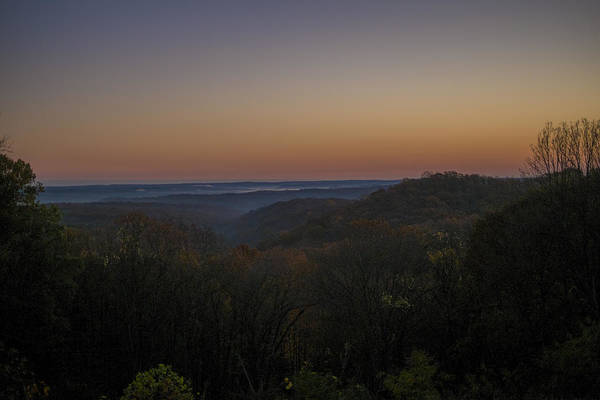 Brown County State Park Photograph - Brown County State Park Nashville Indiana Sunrise by David Haskett II