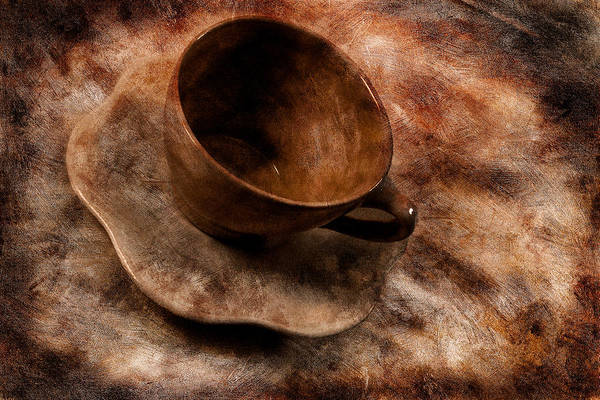 Photograph - Brown Cup  by Mauro Celotti