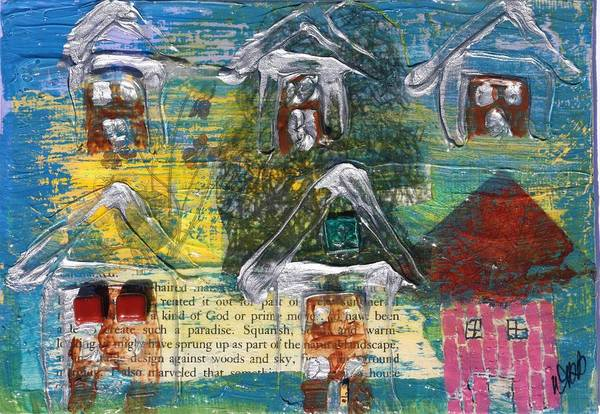 Brown House No. 3 Art Print