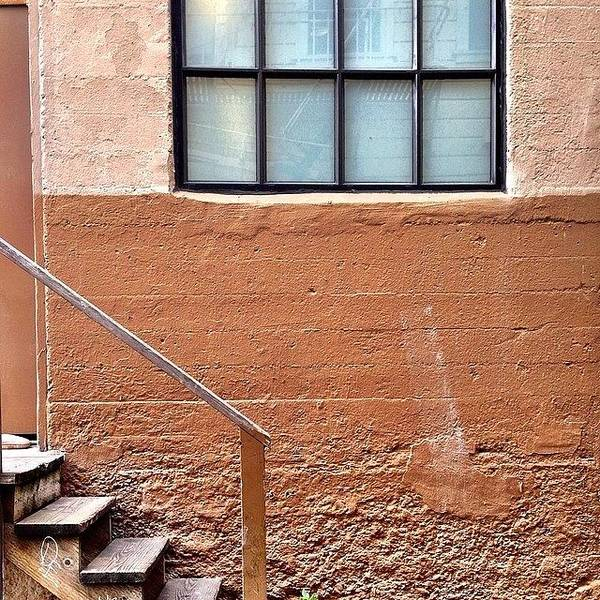 Wall Art - Photograph - Bannister And Window by Julie Gebhardt